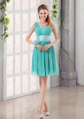 Straps Ruching Sweetheart A Line 2015 Elegant Mother of the Bride Dresses