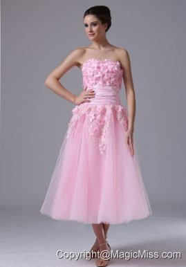 Handle-Made Flower maxi Sweetheart Pink Tulle 2013 Sweet Wedding Dress In Cedar Falls Iowa