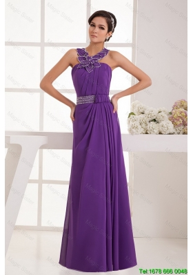 Exquisite Classical Empire Straps Prom Dresses with Beading