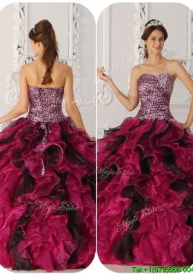 2016 Cheap Ball Gown Floor Length Quinceanera Dresses in Multi Color
