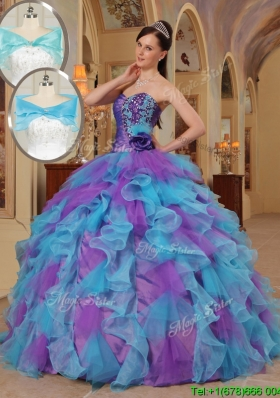Luxurious Ball Gown Sweetheart Vestidos de Quinceanera in Multi Color