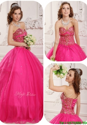 Wonderful A Line Sweetheart Wholesale Quinceanera Gowns with Beading