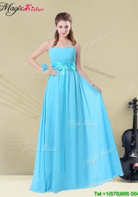 Gorgeous Sweetheart Empire Bridesmaid Dresses with Belt