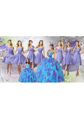 Elegant Multi Color Tulle Quinceanera Dresses and Lovely Ball Gown Mini Quinceanera Dresses and Fashionable Hand Made Flowers Dama Dresses
