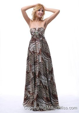 2013 Multi-color Printing Prom Dress For Graduation In Laurel