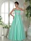 Apple Green Sweetheart Beaded and Rhinestones Prom Dress For Custom Made In Dearborn