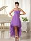 Beaded Decorate Shoulder For 2013 Graduation Dress Chiffon High-low In Virginia