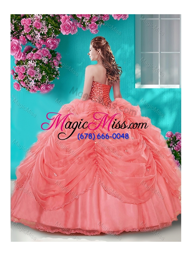 79ec81f234b ... wholesale popular beaded and pick ups big puffy quinceanera dress in light  blue