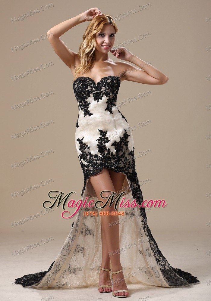 High-low Lace Over Skirt and Sweetheart For 2013 Prom Dress In ...