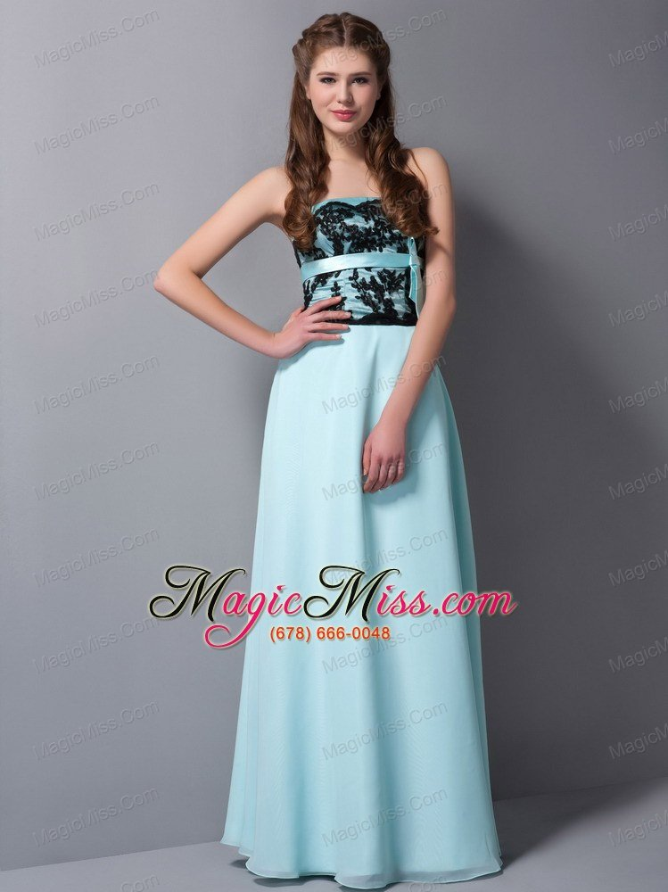 Blue Lace Mermaid Prom Dress