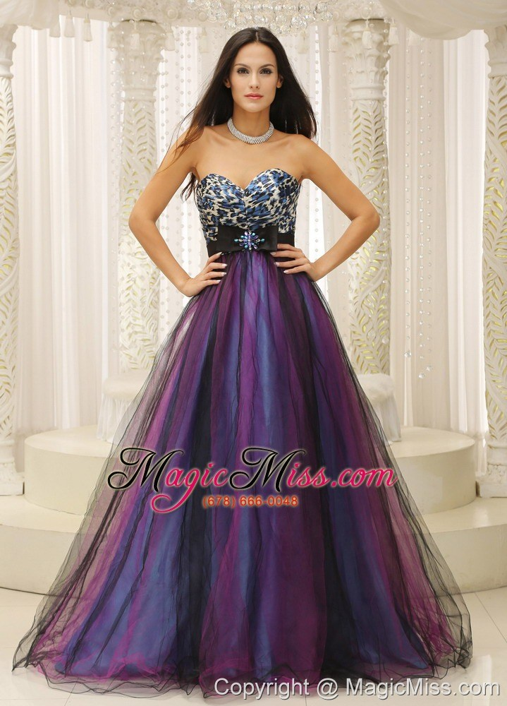 Leopard Sweetheart and Belt For Dama Dresses for Quinceanera ...
